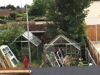 Greenhouses (x2) for sale - pickup only