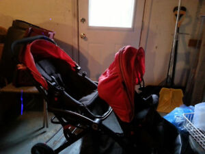 Double stroller got no basket in bottom though