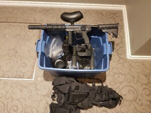 Spyder MR1 Paintball Marker with all accessories included