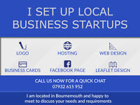 Experienced Friendly Local Web Designer Graphic Designer -Set up everything to start your business