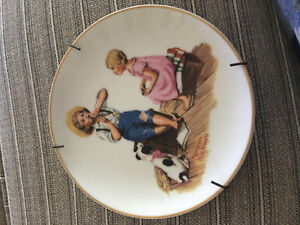 Norman Rockwell Music Master Collector's Plate