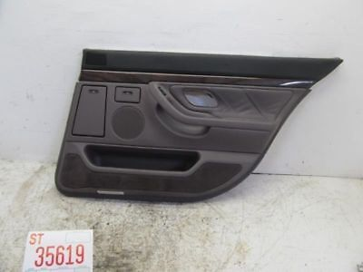 1996-2001 BMW 740IL RIGHT PASSENGER REAR INNER DOOR TRIM PANEL COVER interior