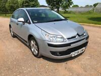 2006 CITROEN C4 1.6I AUTOMATIC PETROL 5 DOOR HATCHBACK