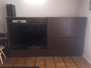 TV Media Center with Storage