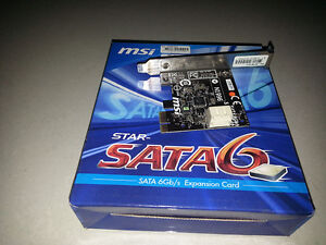 MSI-Star-SATA6-2-Port-SATA-III-6Gb-s-PCI-Express-x1-Controller-Card-OEM