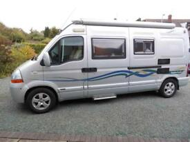 TIMBERLAND ENDEAVOUR Renault MASTER LM35 DCI120 2 berth MOTORHOME FOR SALE
