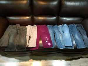 Size 3 clothing lot (19 pieces, mostly girls, a few unisex)