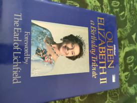 Book on Queen Elizabeth
