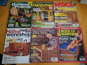Woodworking & Home Improvement magazines