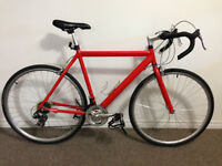 18 speed road bike with new tires and pedals 240$ OBO
