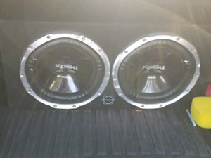 "10"" Sony xplod sub with MTX Amp"