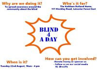 Kathleen Rutland care home, blind awareness day