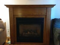 Majestic model DT336 RP propane fireplace