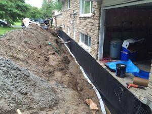 Basement waterproofing Peterborough Peterborough Area image 1