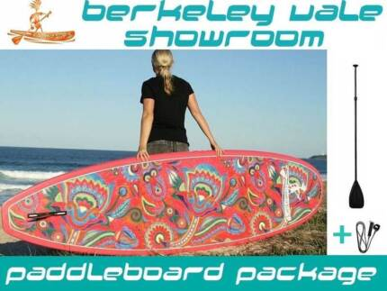 """Stand up Paddle board with """"FLOWER POWER"""" FUNKY SUP- Unique + Fun"""