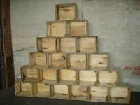 Weathered , Antique apple crate, Apple Crates DIY , Wooden Boxes