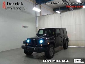 2014 Jeep Wrangler Unlimited 4Dr Rubicon Low Milge Nav $257 B/W