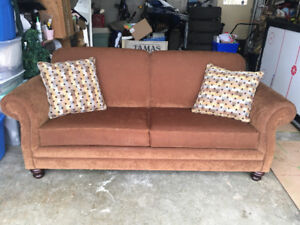 Pull out couch.  Like brand new!   Used only a couple of times!