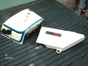 suzuki gs 750 tail and side cover 77 78