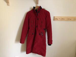 Manteau Canada Goose rouge pour femme XS