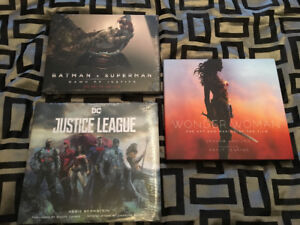 wonder woman, batman v superman ,justice league art of the film