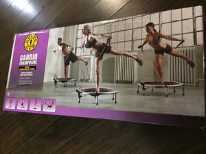 Cardio Trampoline, Weights, Jump Ropes, etc