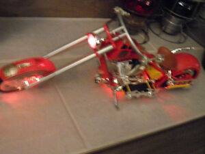 OCC Replica Fire Bike with lights, motor sound and Siren. Gatineau Ottawa / Gatineau Area image 3