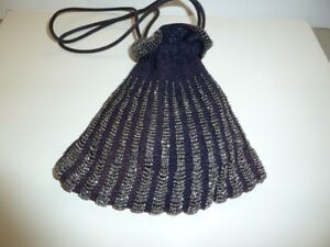 1920s French Drawstring Purse
