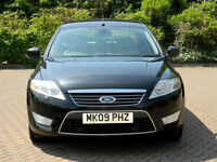 2009 09 FORD MONDEO 2.0 TDCi GHIA X AUTO WITH SATNAV+FULL LEATHER+XENONS+PDC