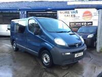 2004 blue Vauxhall Vivaro 1.9Di 2700 SWB 112k miles 6 months mot ready to go