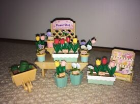 Sylvanian families flower stall