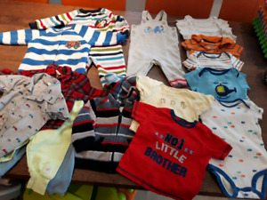 Baby boy 3-6 mo lot - 18 pcs