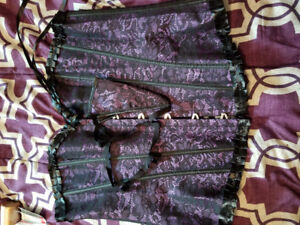 New Ladies Purple Corset