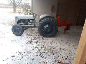 **Ford 8n tractor w 72inch plow works good $2350 obo**