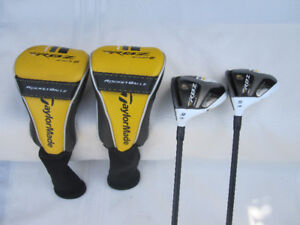 TaylorMade RBZ Stage 2 Left Hand Fairway Wood # 3/15º & 5/19º