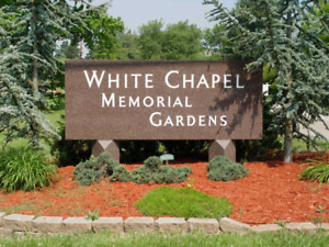 2 Burial Plots at White Chapel Memorial Gardens in Hamilton ON