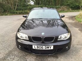 2006 BMW 120D M Sport Mot Till May 2017 5 Door Just Serviced New Turbo With Invoices Superb Drive