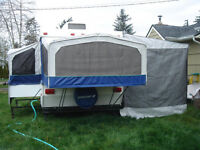 Add a Room for Tent Trailer with Privacy Flaps (Delivery