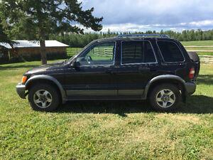 2002 Kia Sportage Base SUV, Crossover