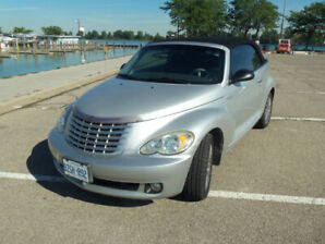 2006 PT CRUISER GT TURBO CONVERTIBLE