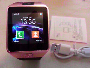 SMART Watch - Bluetooth, SIM Slot and Other Features ROSE GOLD