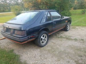 1984 Mercury Capri RS