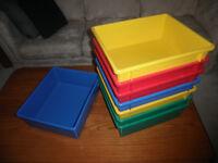 BRAND NEW Storage Bins (for toys?)