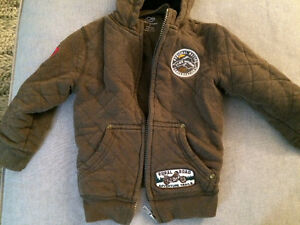 Boys size 3 thick sweater coat