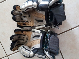 Warrior lacrosse gloves 12 inch