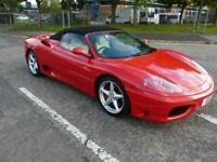 2004 Ferrari 360 FERRARI Saloon Petrol Manual