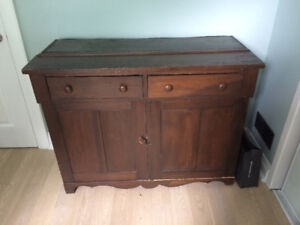 Antique cupboard/wood cupboard