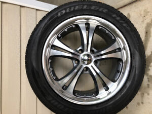 19 Inch Aftermarket wheels and tires used one season- 285/45/R19