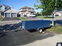 3 X 8 Utility Trailer - Great For Snowblower, Multi Use