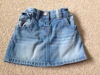 Next girls skirt 1.2-2 years